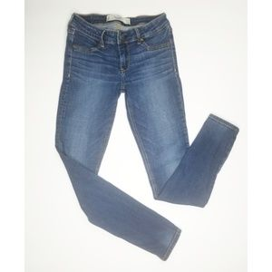 Abercrombie and Fitch jeggings dark wash jeans